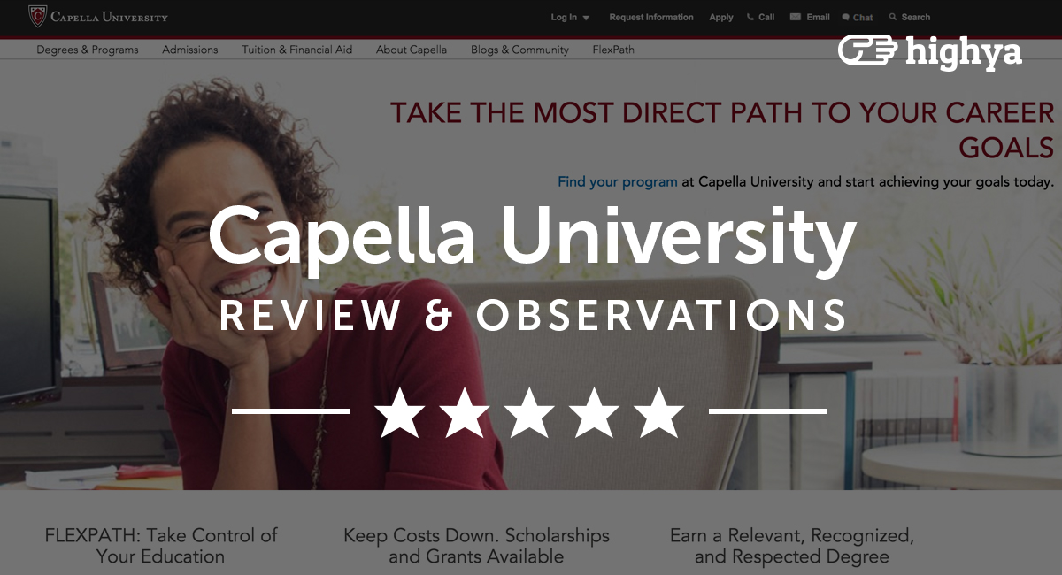capella university papers Academic integrity – writing with sources  review and discuss capella university's academic honesty policy  and papers submitted to the capella repository .