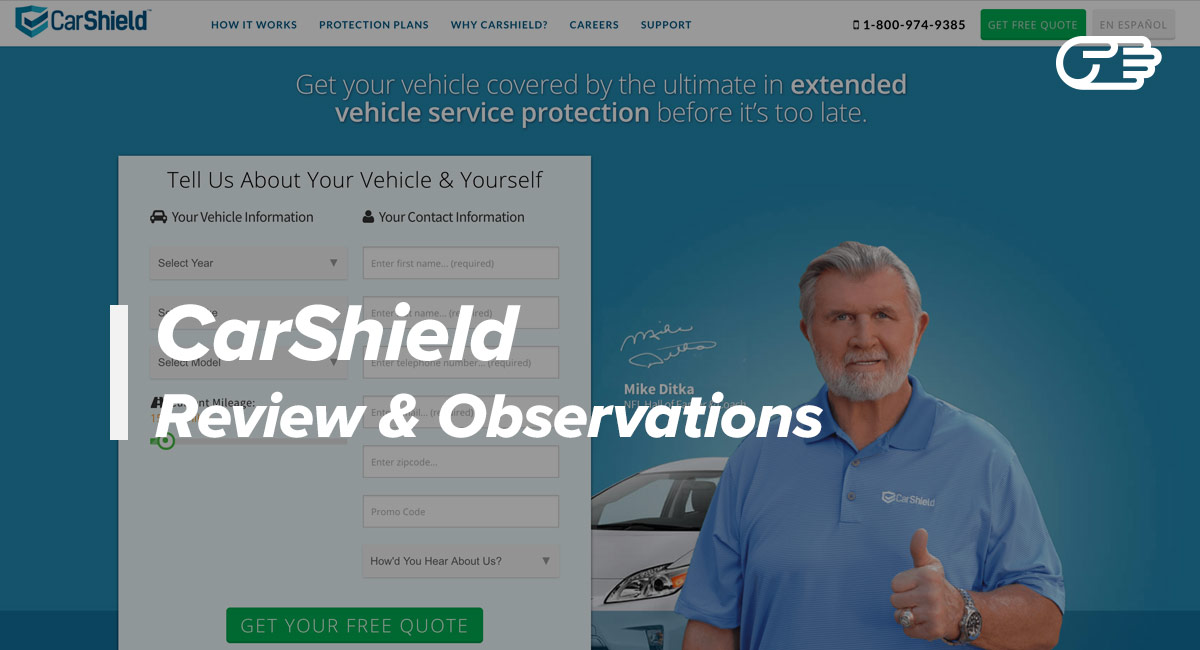 Carshield Reviews The Right Extended Car Warranty