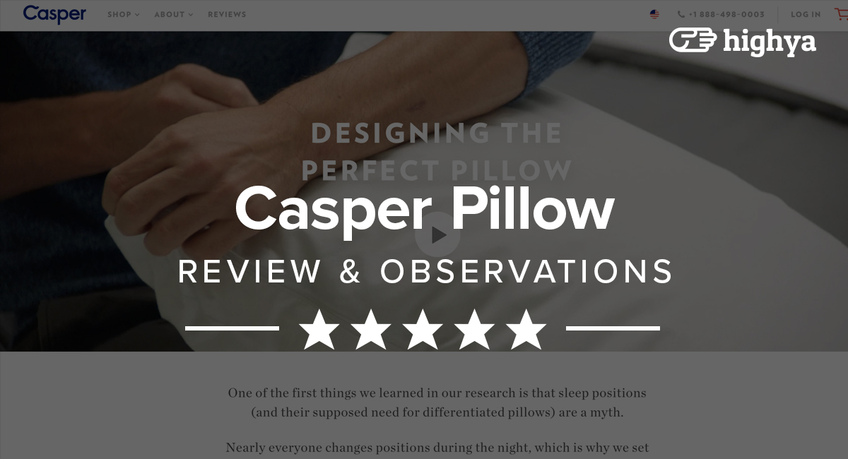 Casper pillow coupon code