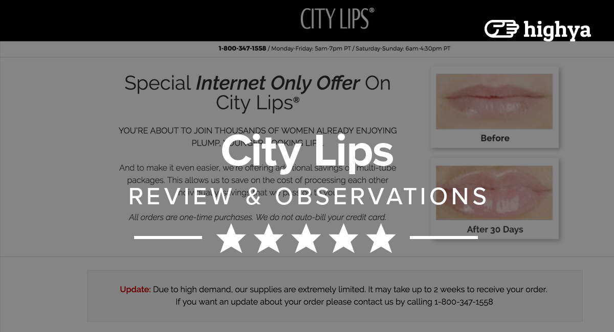 City Lips Reviews - Is...