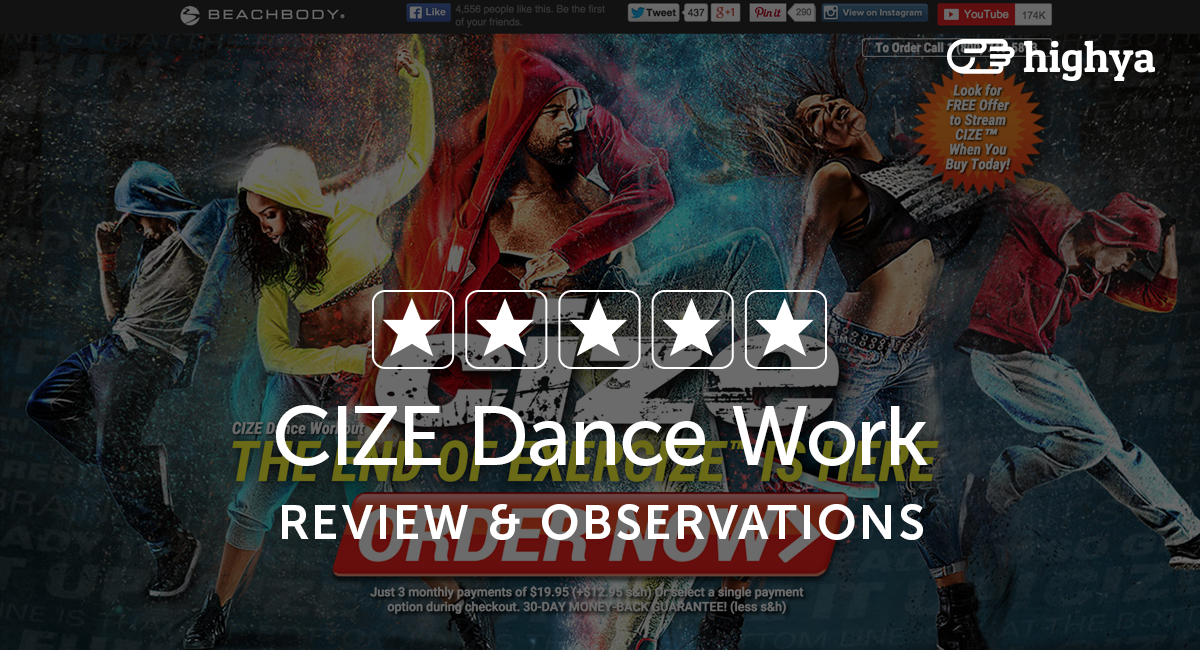 CIZE Dance Workout Reviews - Is it a Scam or Legit?