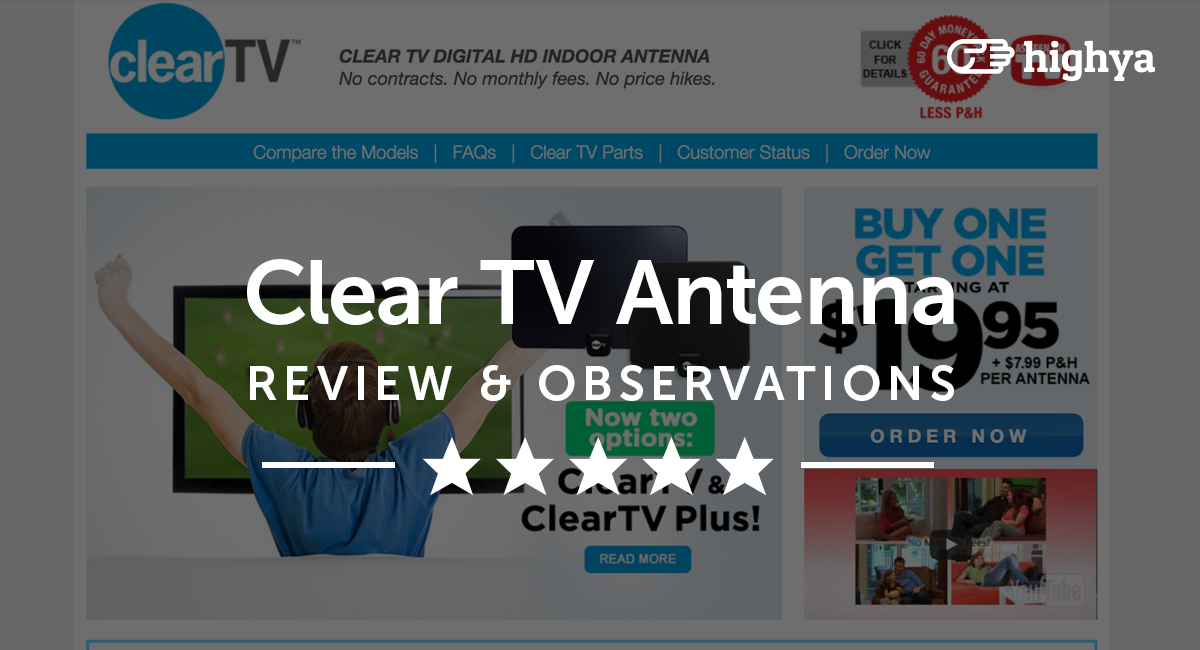 Clear Tv Antenna Reviews Is It A Scam Or Legit