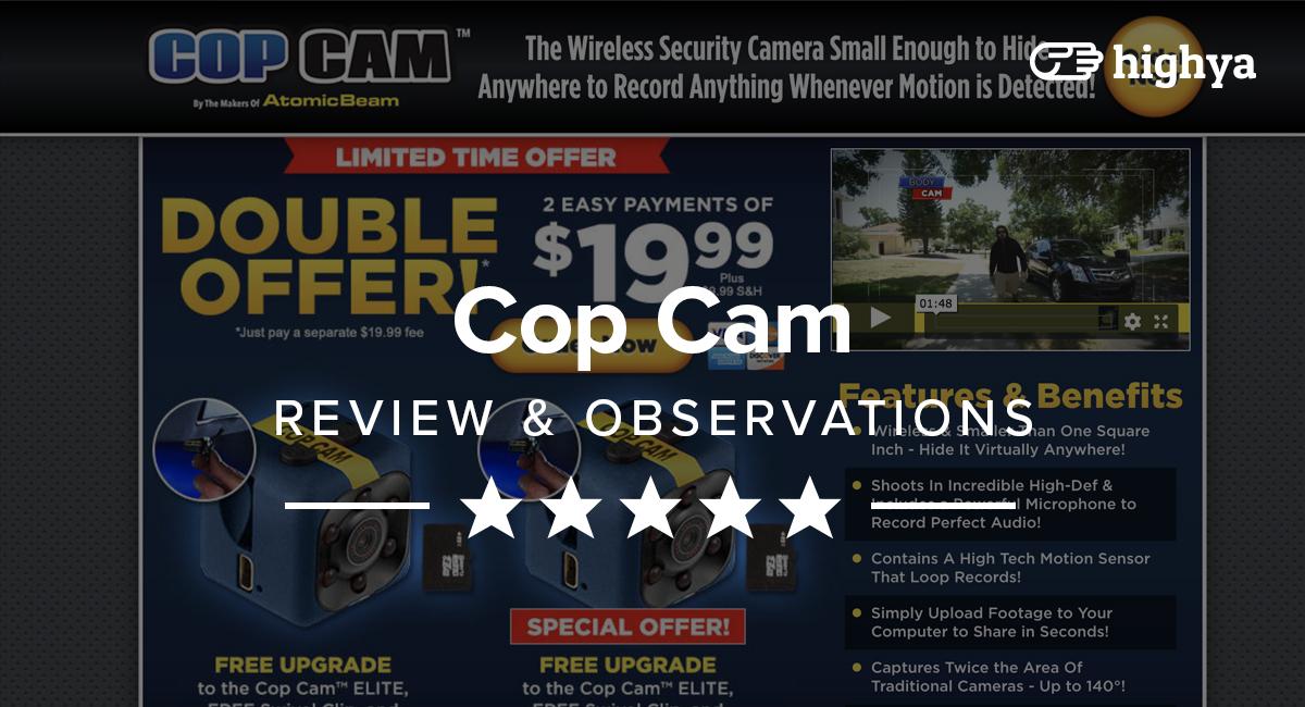 Cop Cam Reviews Ideal Security Camera