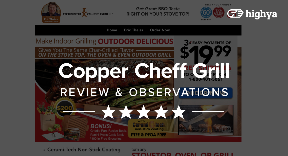 Copper Chef Grill Reviews - Is it a Scam or Legit?