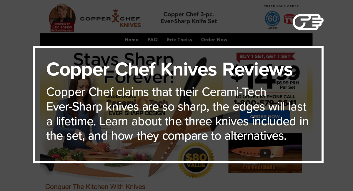 copper chef knives reviews ultimate ever sharp knife. Black Bedroom Furniture Sets. Home Design Ideas