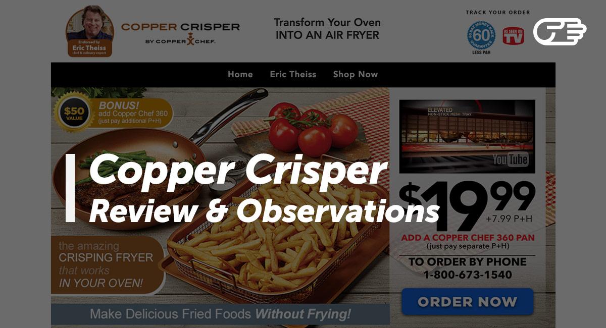 Copper Crisper By Copper Chef Reviews Is It A Scam Or Legit