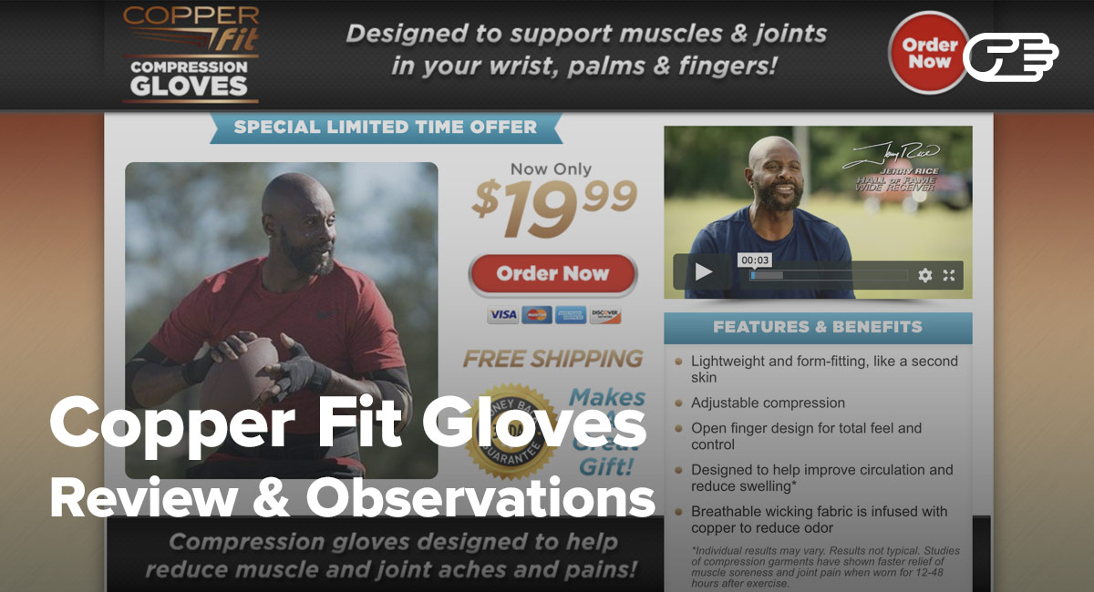 Copper Fit Gloves Reviews
