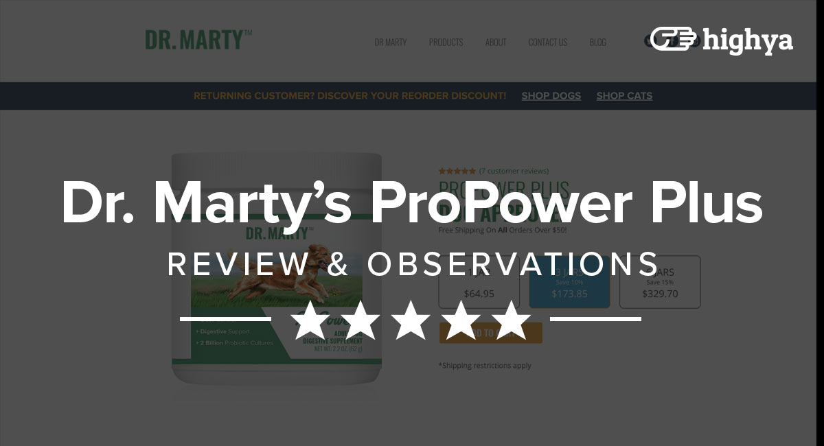 Dr Marty Propower Plus Reviews Is It Safe And Effective