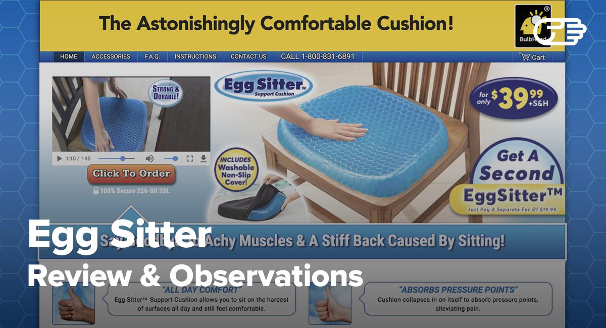 Egg Sitter Reviews Is It A Scam Or Legit