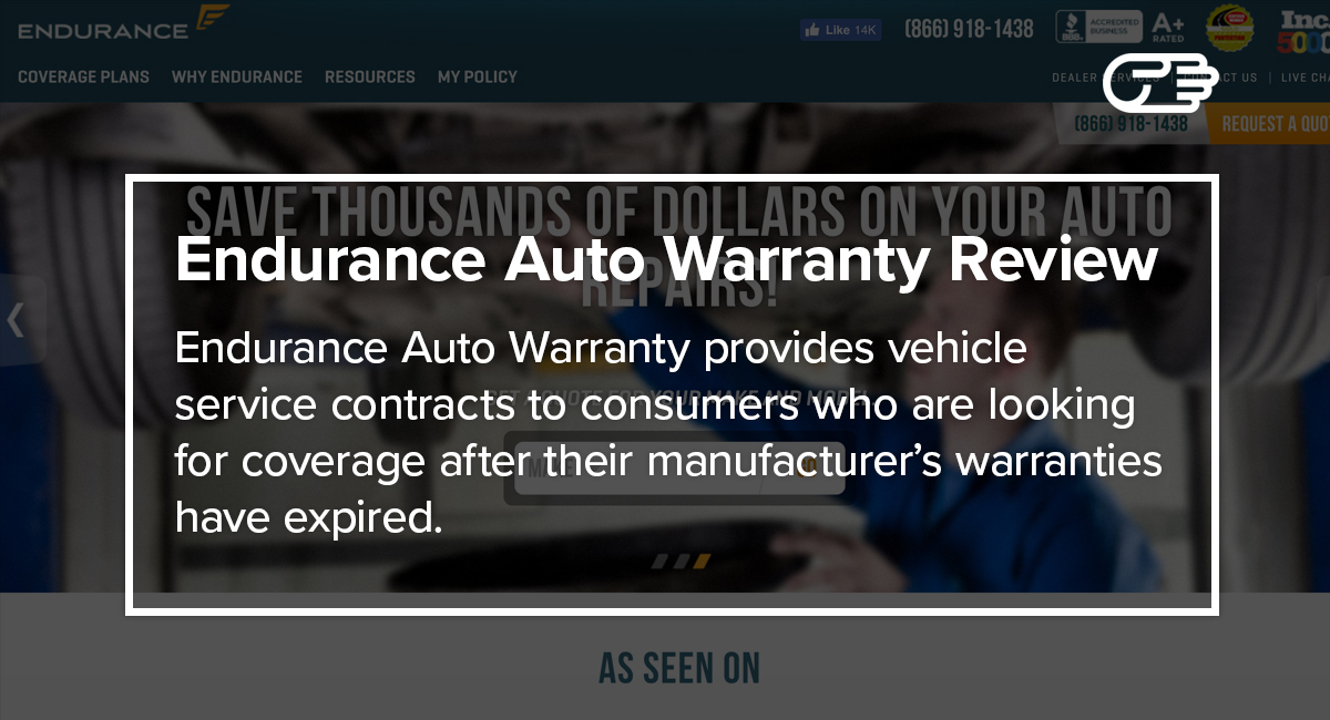 Endurance Car Insurance >> Endurance Auto Warranty Reviews Is It Worth It
