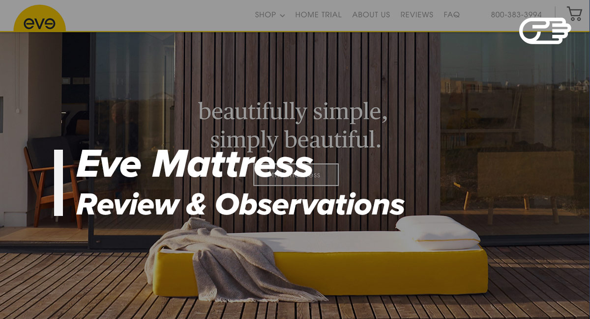 eve mattress reviews is it your best option eve. Black Bedroom Furniture Sets. Home Design Ideas