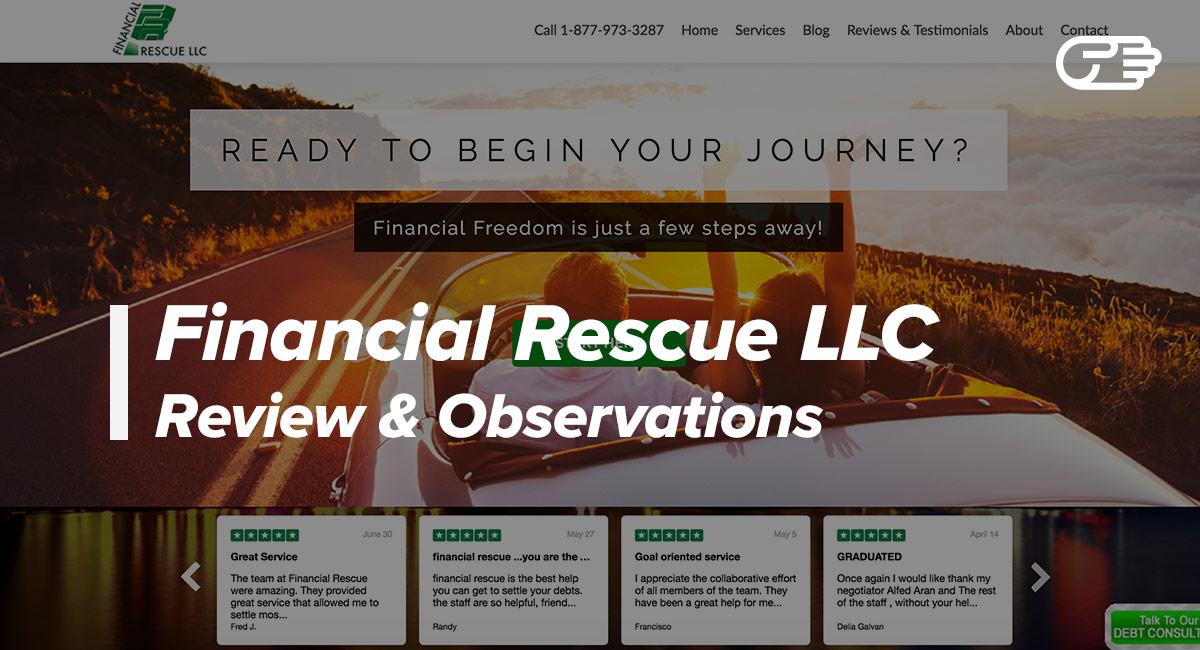 Financial Rescue LLC Reviews - Is it a Scam or Legit?