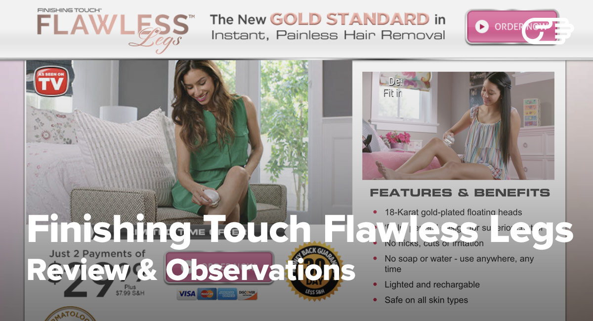 Finishing Touch Flawless Legs Reviews Is It A Scam Or Legit