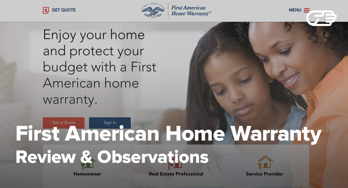 American Home Warranty Review first american home