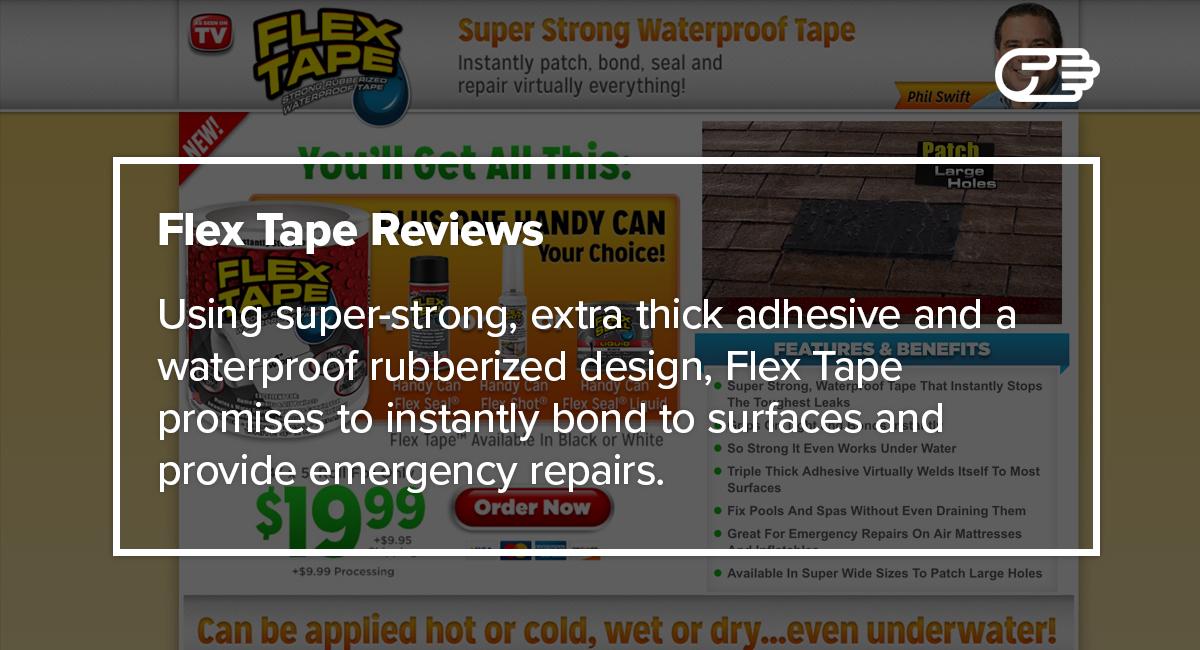 Flex Tape Reviews Is It A Scam Or Legit