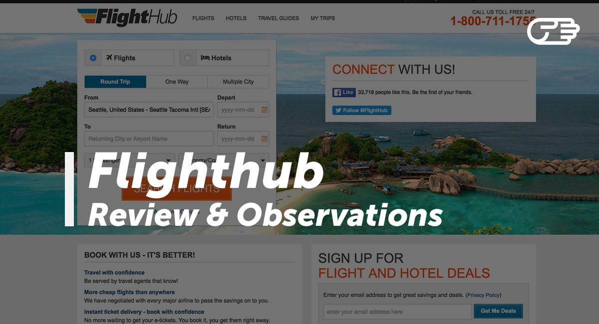 FlightHub loves to inspire fellow travellers to explore the world! We are dedicated to selling cheap flights in order to get them to their destination!