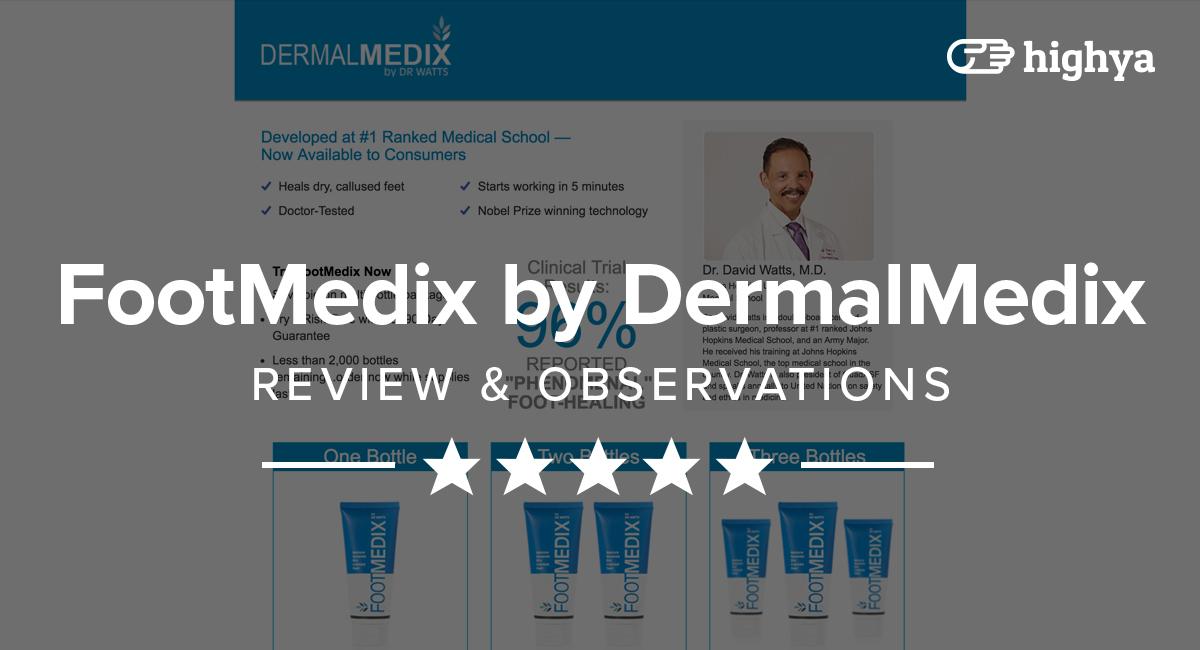 Footmedix By Dermal Medix Reviews Is It A Scam Or Legit