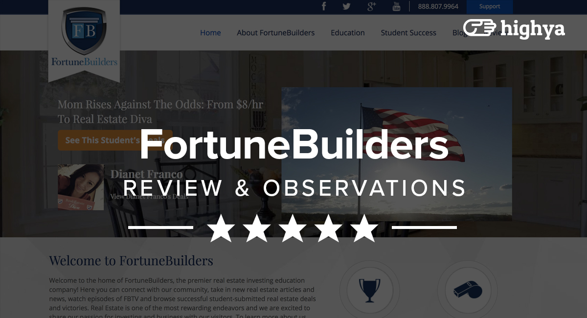 Fortunebuilders Reviews Is It A Scam