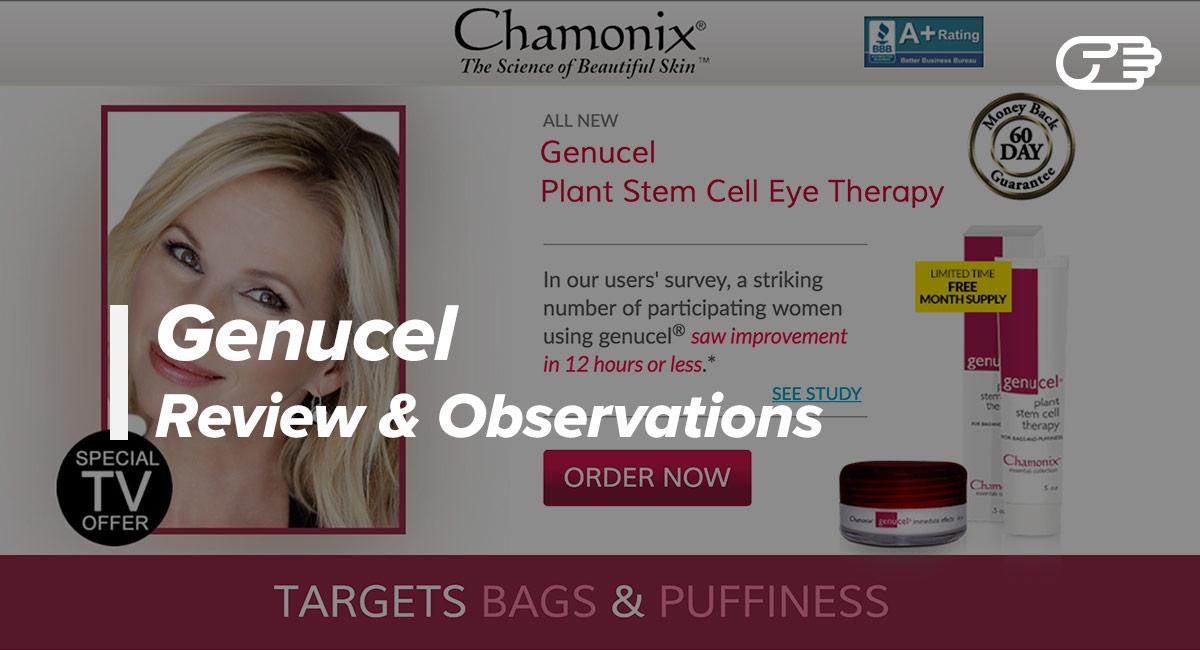 Genucel Reviews - Is it a Scam or Legit?
