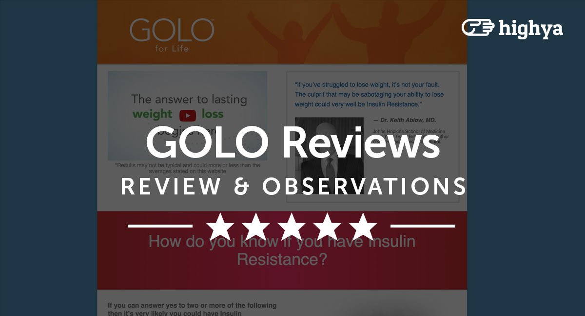 Golo Weight Loss Diet Reviews Does It Really Work