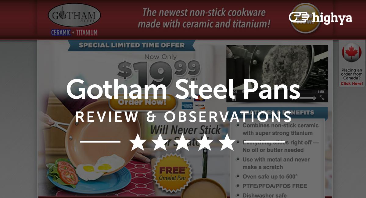 Gotham Steel Pans Reviews Is It A Scam Or Legit