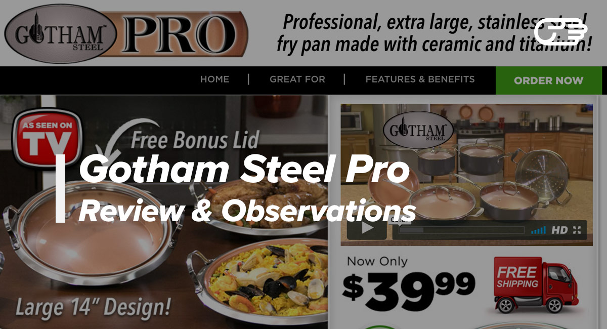 Gotham Steel Pro Reviews Is It A Scam Or Legit