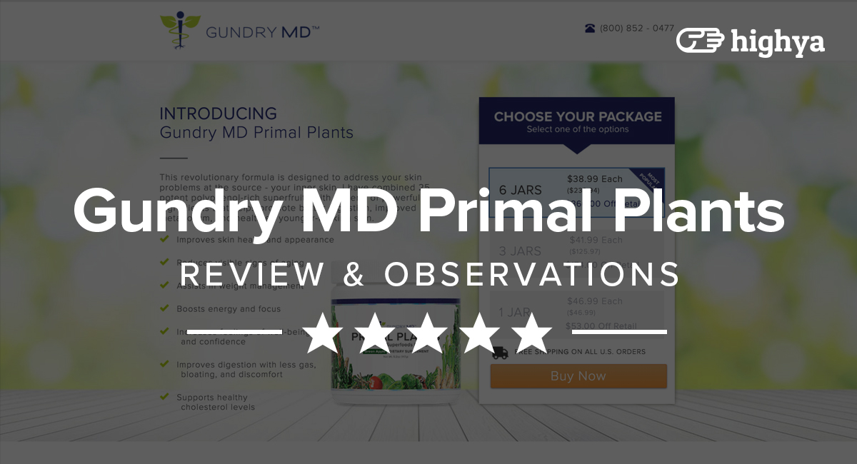 Gundry md primal plants reviews is it a scam or legit malvernweather Image collections