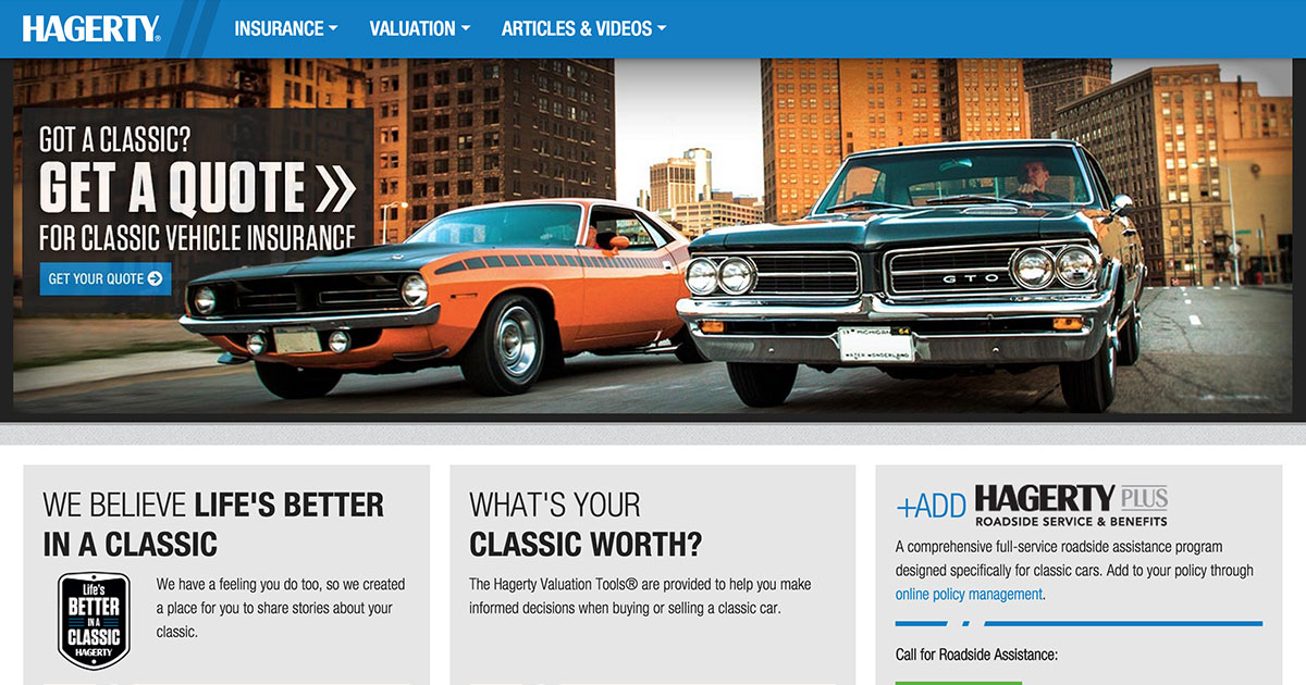 Hagerty Classic Car Insurance Reviews