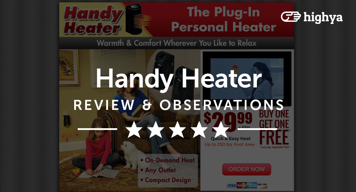 Handy Heater Reviews Is It A Scam Or Legit