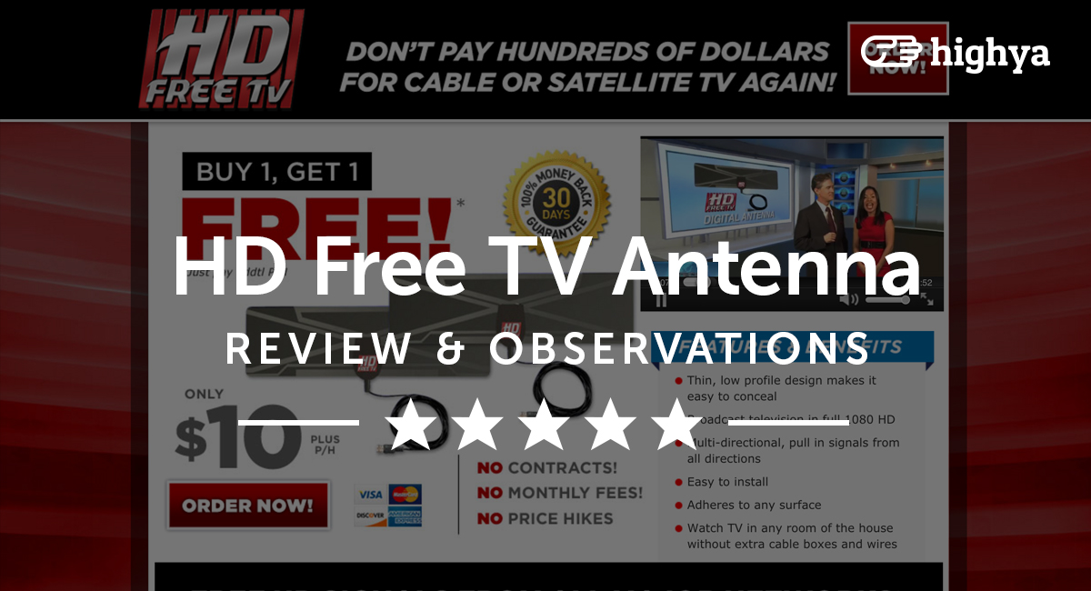 HD Free TV Antenna Reviews - Is it a Scam or Legit?