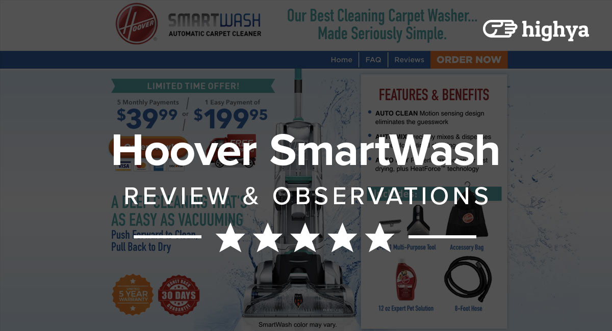 Hoover Smartwash Vacuum Reviews Is It Worth It Or Hype