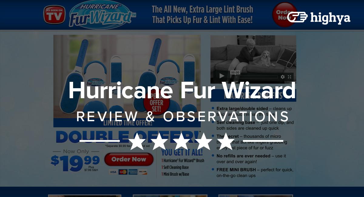 fur wizard as seen on tv reviews