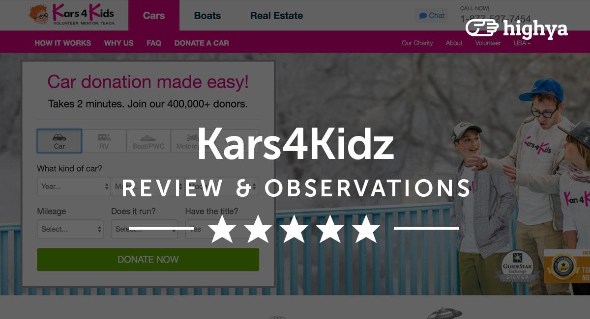 kars4kids reviews is it a scam or legit. Black Bedroom Furniture Sets. Home Design Ideas