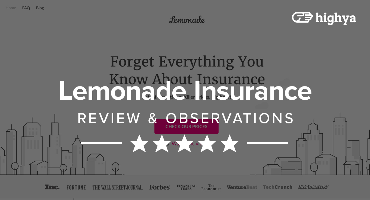Homeowners Insurance Company >> Lemonade Insurance Reviews - Ideal For Homeowners and Renters?