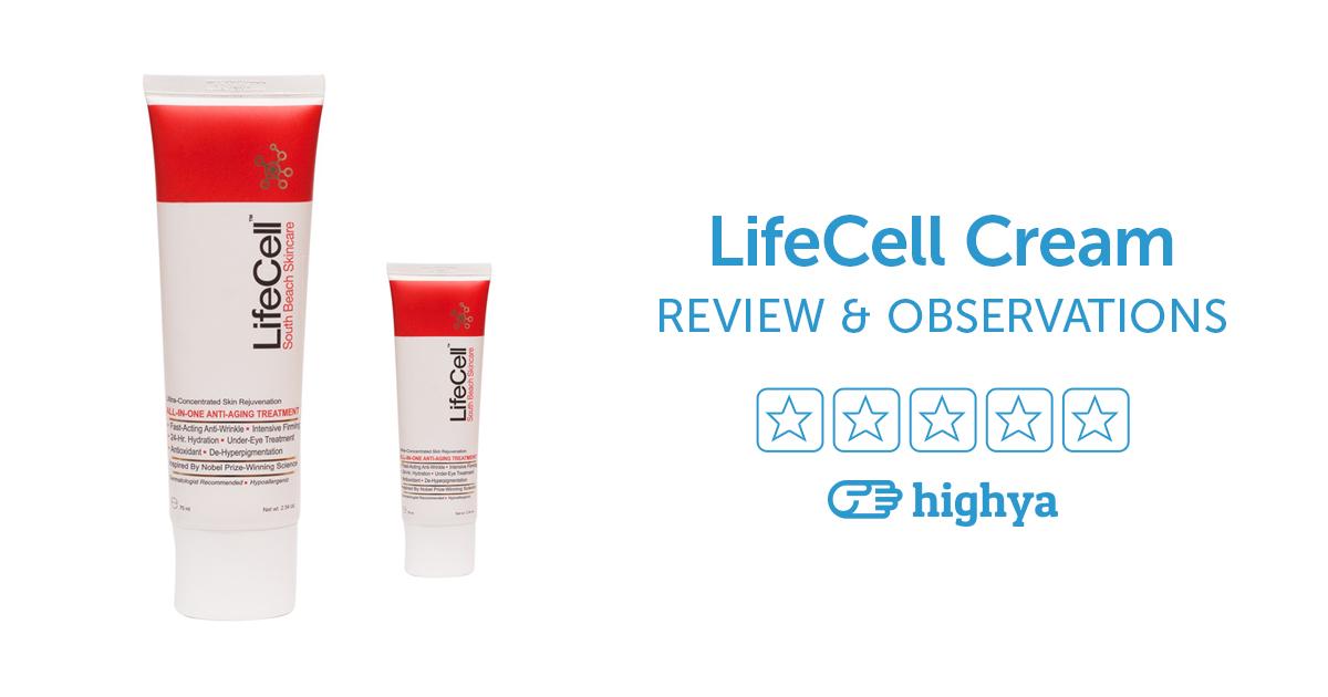 lifecell anti aging cream
