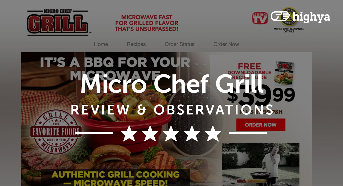 micro chef grill reviews is it a scam or legit. Black Bedroom Furniture Sets. Home Design Ideas