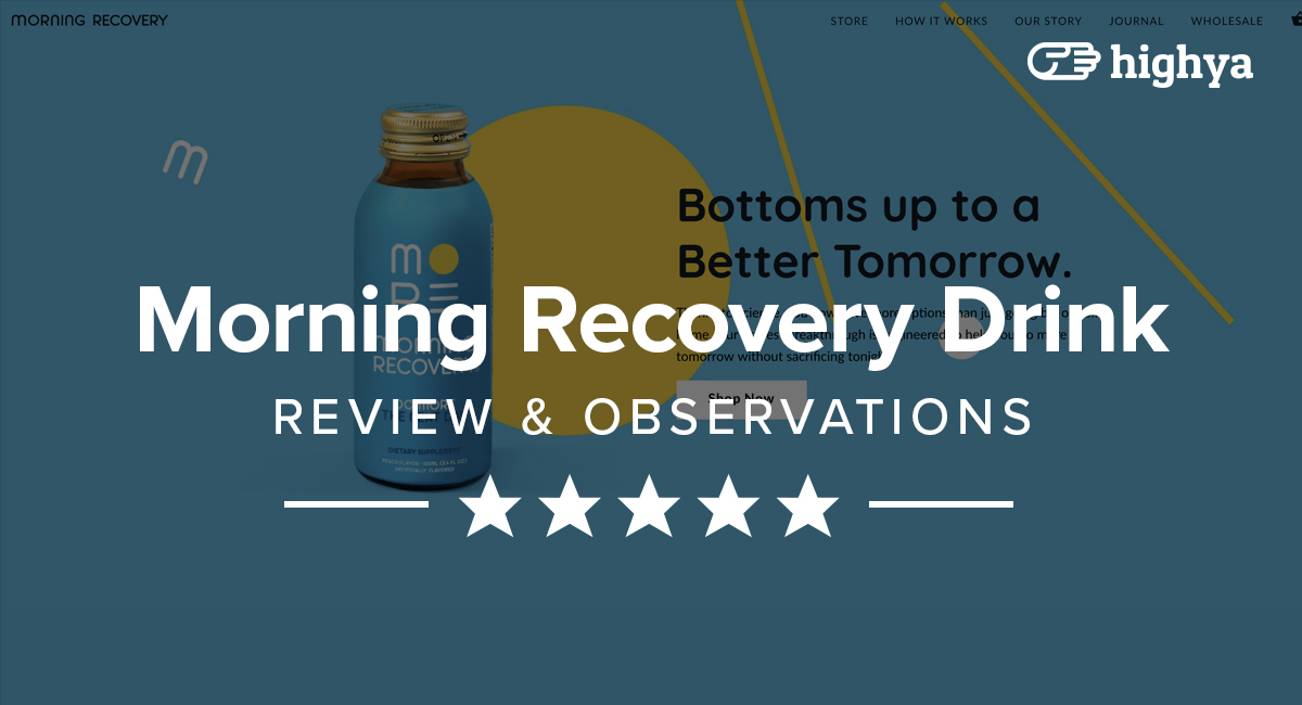 Morning Recovery Drink Reviews - Does It Really Work?