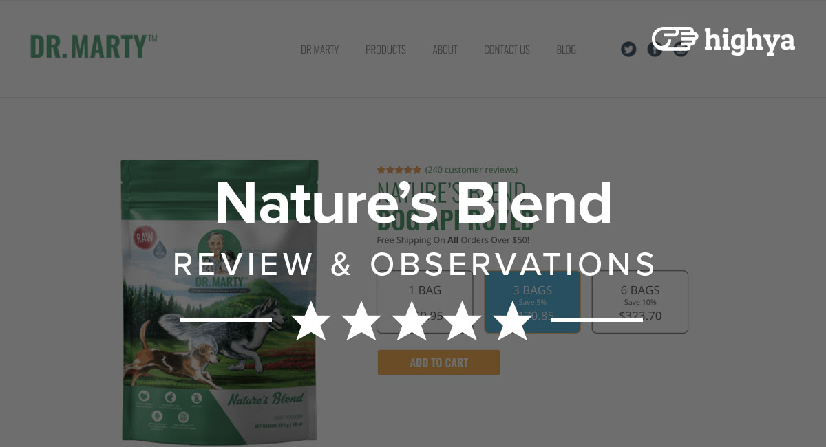 Dr. Marty Nature's Blend Reviews - Is It Legit or Just Hype?
