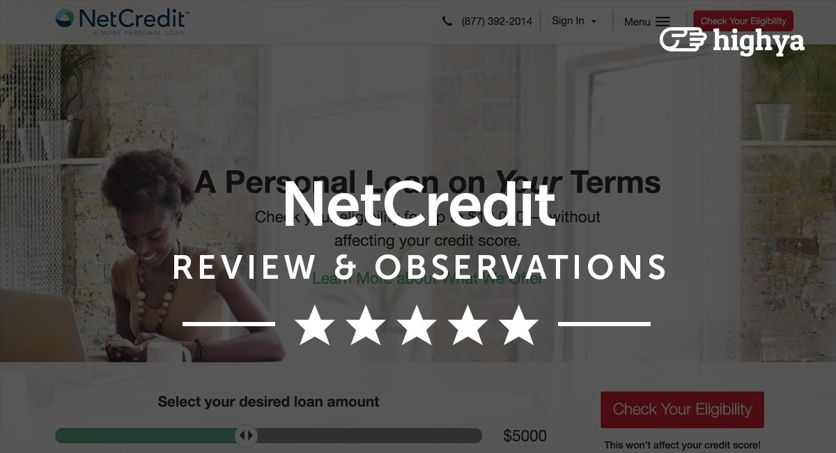 netcredit reviews