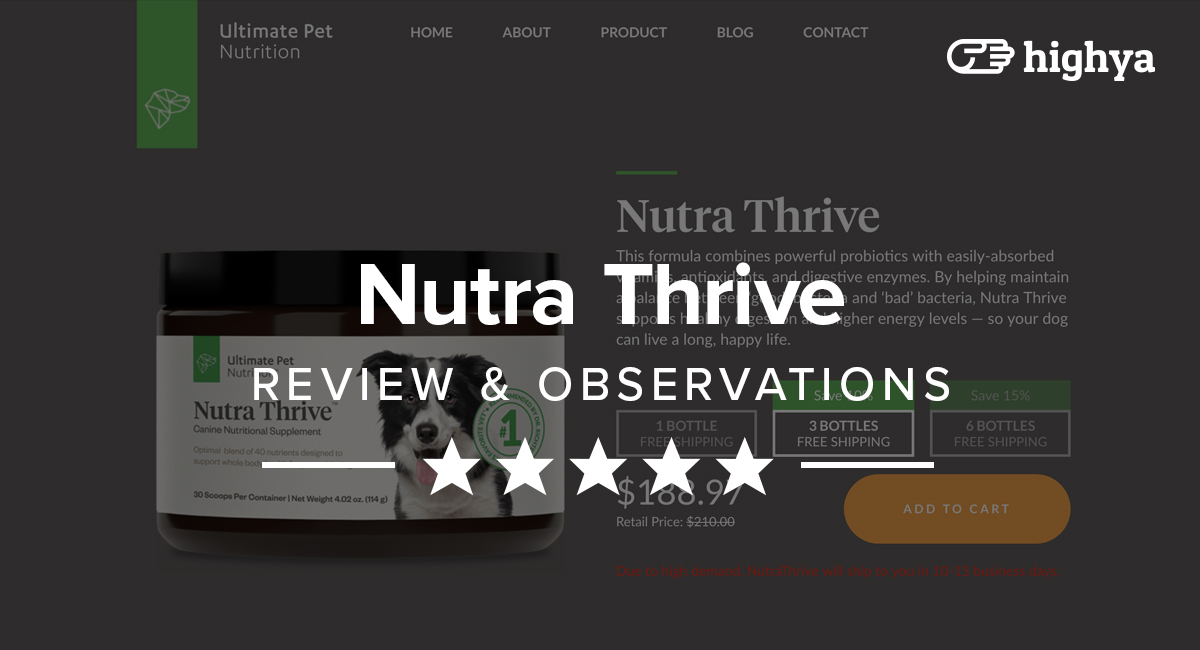 nutra thrive reviews