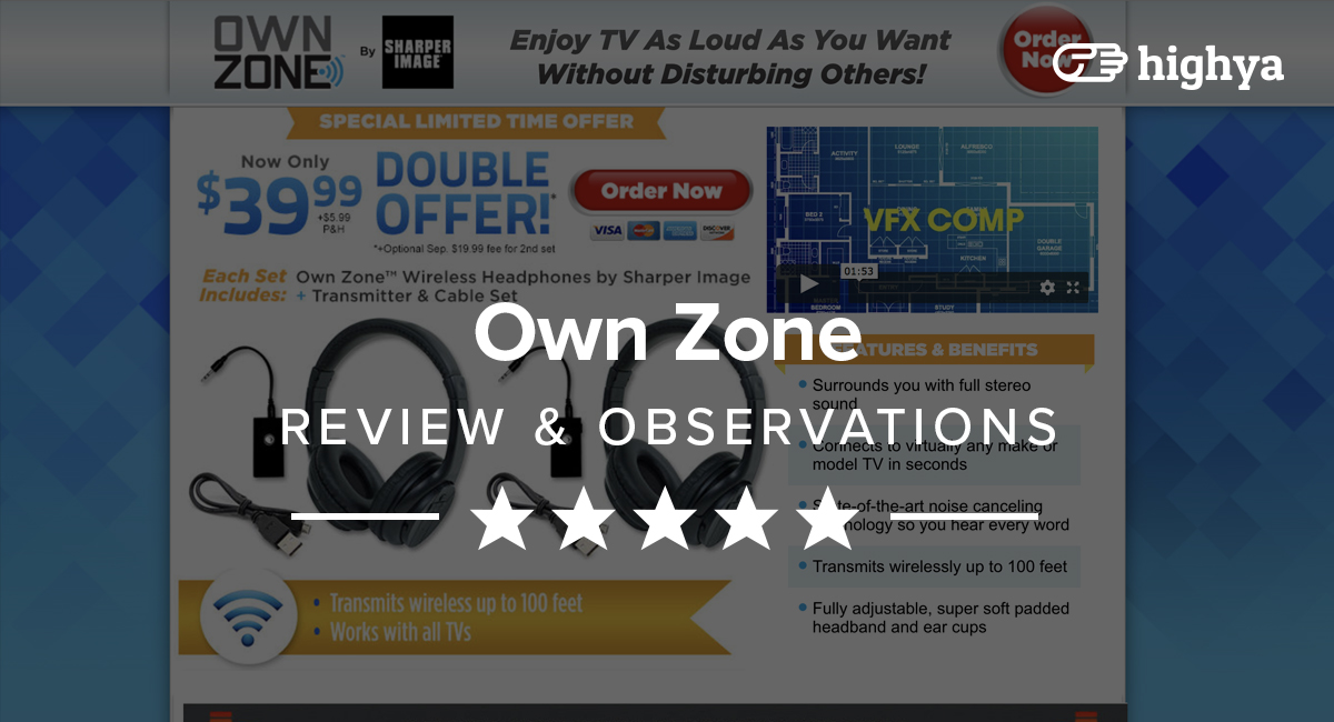 Own Zone Wireless Headphones Reviews Is It A Scam Or Legit