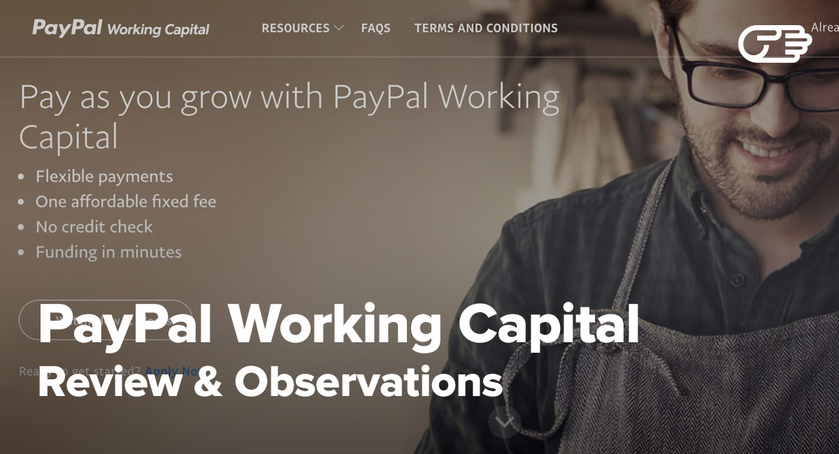 PayPal Working Capital Reviews - Pros and Cons