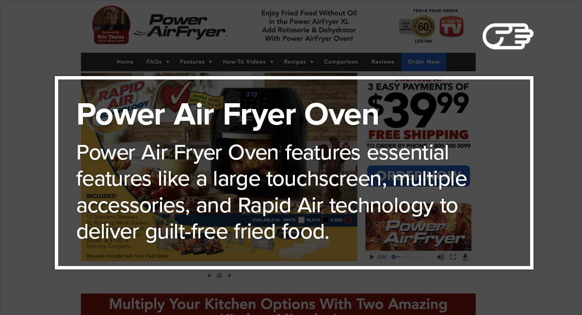 Power air fryer oven reviews is it a scam or legit fandeluxe Choice Image