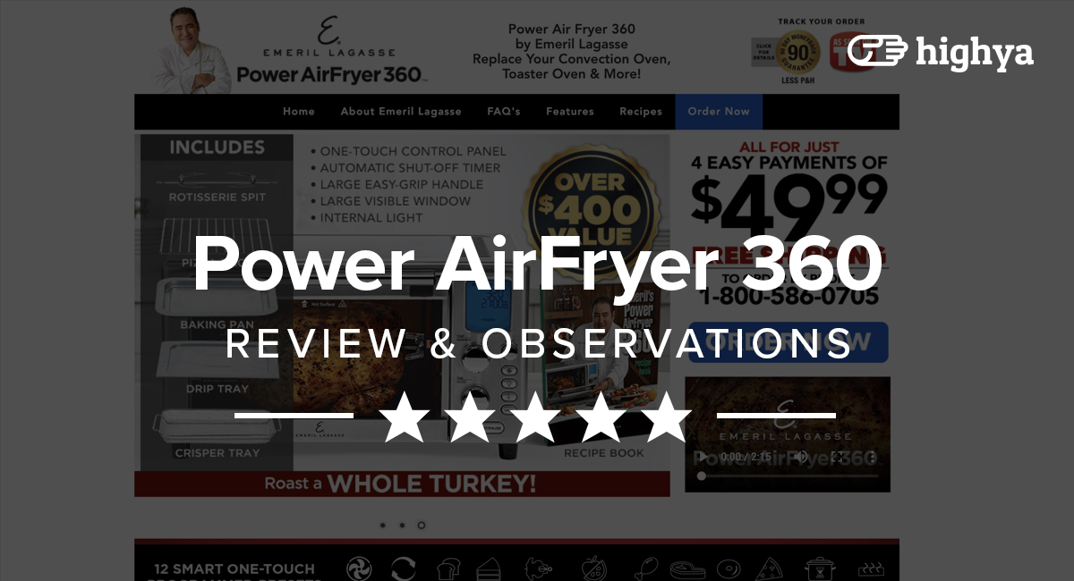 Power Airfryer 360 Reviews Is It A Scam Or Legit