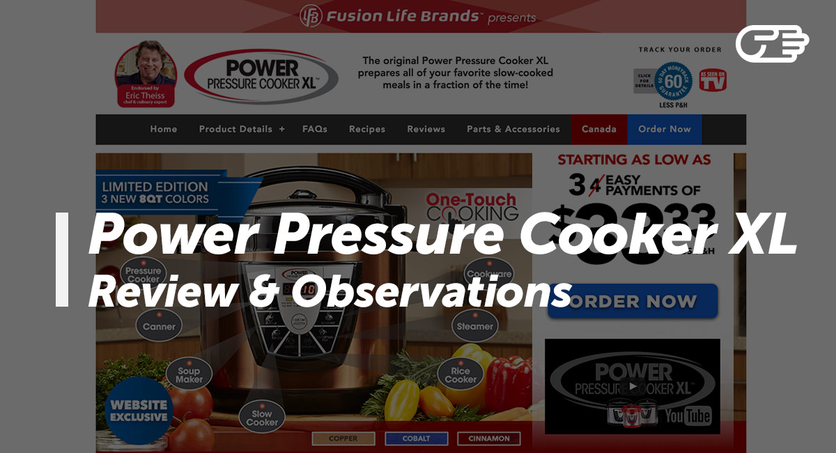Power pressure cooker xl reviews is it a scam or legit fandeluxe Choice Image
