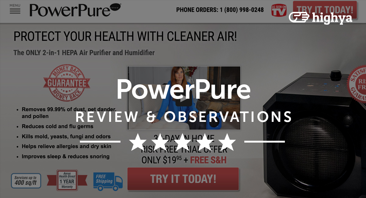 Powerpure Humidifier Reviews Is It A Scam Or Legit