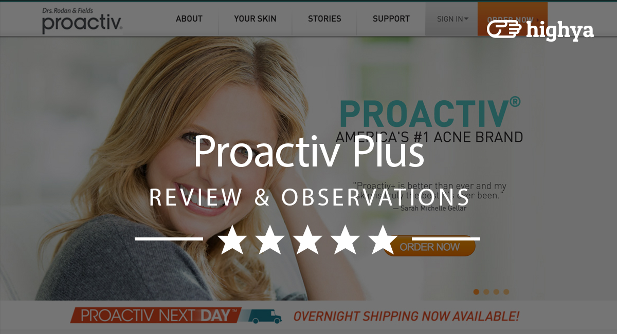 Proactive for adults acne