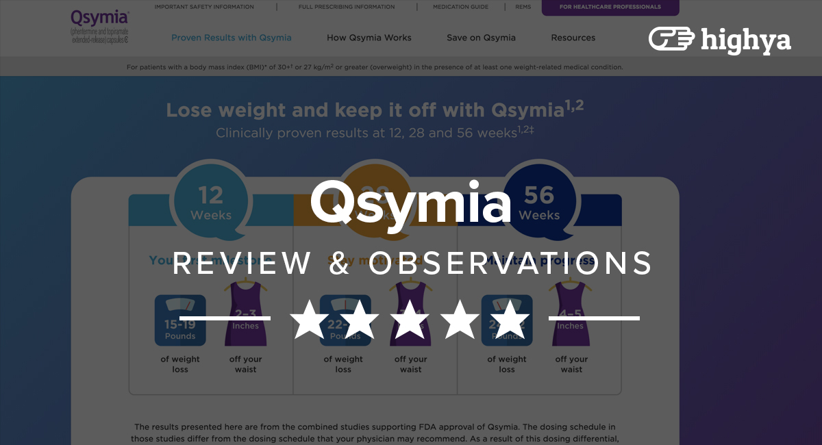 Qsymia Review Does It Work And Is It Safe