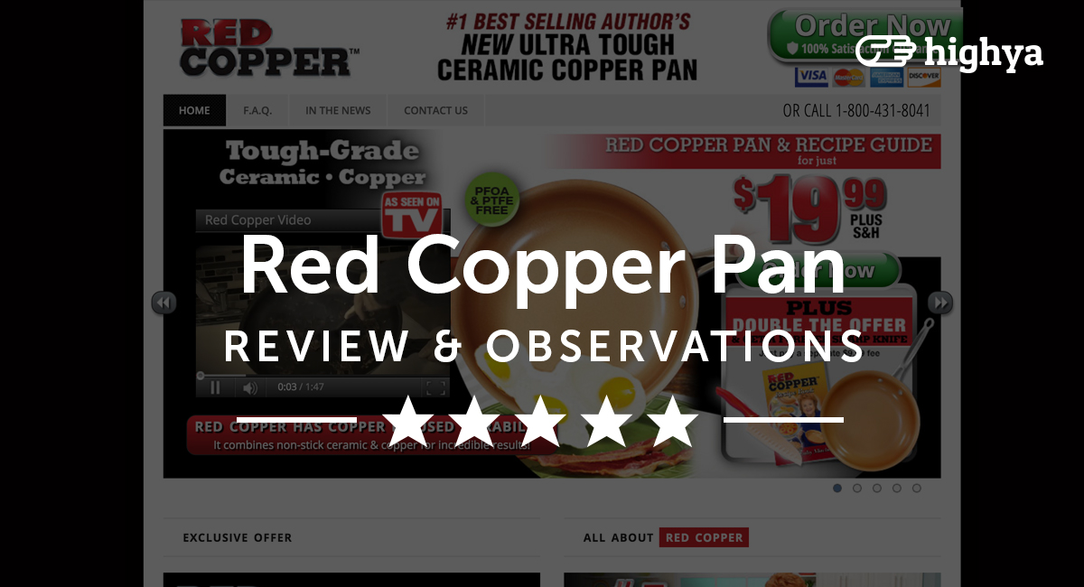 Red Copper Pan Reviews Is It A Scam Or Legit