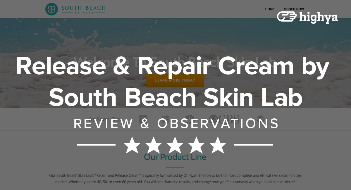 Release & Repair Cream by South Beach Skin Lab Reviews - Is